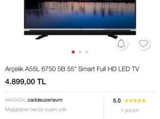 139 EKRAN ARÇELİK TV 2 YIL GARANTİLİ