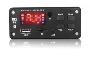 kablosuz bluetooth 5V 12V MP3 WMA dekoder kurulu MP3 oyuncu uzaktan kumanda ile