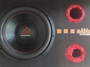 Massive 2400W 1300RMS ULTIMATE-MS 12 30Cm