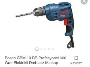 Bosch Elektrikli Matkap GBM 10 RE