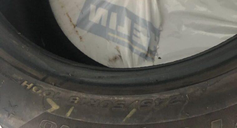 BMW 730 Kışlık Lastik 245/50/18 ebatıdır Temiz Az Kulanıldı